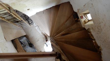 Escalier de manoir