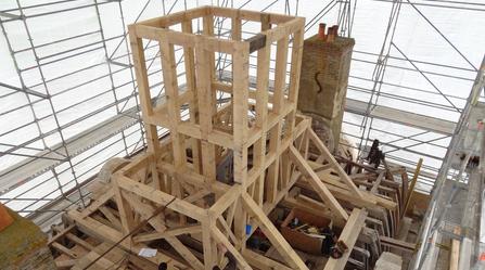Restauration de charpente de château